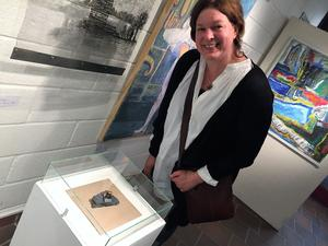 Leksandskonstnären Jennie Tornberg  Alvarsson är med i Konst runt Siljan för första gången i år.