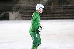Kalle Spjuth gjorde comeback mot Vetlanda.