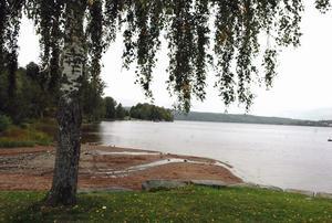 Sjön Ljustern är en stor tillgång för Säter. Foto:Roland Berg