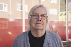 Birgit Edlind, 78 år, pensionär, Fagersta: – Nej, det brukar jag inte. Jag tror läkaren är bättre på det där än vad jag är.