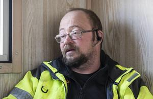 – Jag har längtat efter arbetet, säger Peter Åberg som drygt nio månader efter sin njurtransplantation är tillbaka i jobbet som maskinförare.