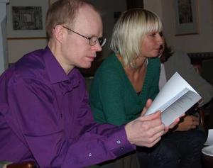 Styderar elevarbete. Per Frankelius, ekonomie doktor vid högskolan i Örebro och ansvarig för CBM i Sjurberg.