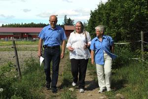 Erik Bohlin från tidigare år, här med Lillebil Grass och Berith Davidsson. Foto: Robin Högberg.