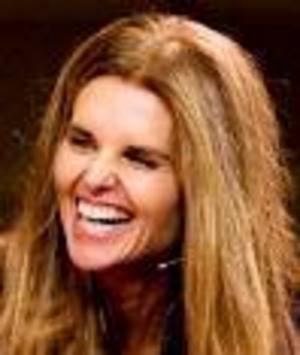Maria Shriver lär inte skratta så glatt när/om hon blir bötfälld.    Foto: Scanpix