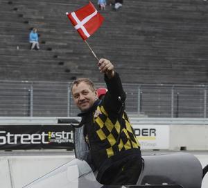 Danske Stig Nergaard vann Top fuel, men lyckades inte ta tillbaka EM-ledningen.