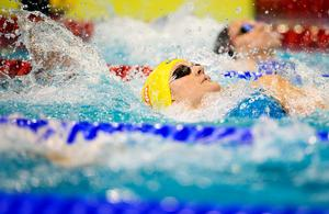 Stina Gardell är vidare till EM-final på 200 meter medley i Berlin.