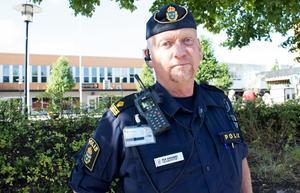 Områdespolisen Per Ersgård.