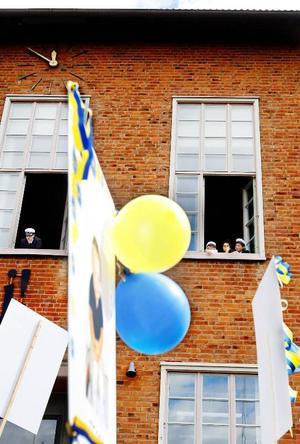 Tolv år i skolan är över. Nu väntar framtiden för länets nybakade studenter.Foto: Henrik Flygare