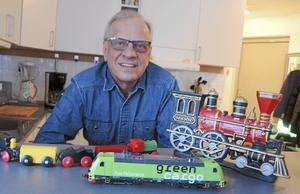 Roland Järleskog från Borlänge har levt ett yrkesliv i transportnäringens tjänst.