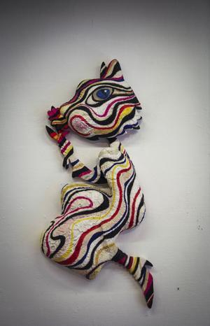 Ett av de konstverk Luis Deza gillar mest.