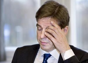 i går fredag 9.00. Efter några veckors uppvaktningar kan Håkan Wåhlstedt frigöra tid för att svara på frågor om hur läget är på länsstyrelsen. Stabens personal mår inte bra, enligt en medarbetarundersökning och få nu psykologhjälp. Mer än hälften har inte förtroende för länsstyrelsens ledning. Foto: Kenneth Hudd