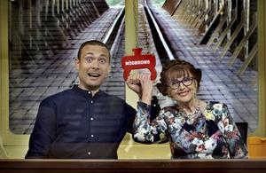 Elisabet Höglund och Jesper Rönndahl tog hem segern i SVT:s