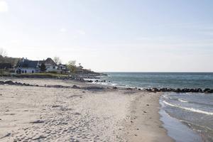 Längs Strandvejen finns flera fina stränder.