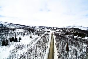 I ansökan till Bergs kommun framgår att Hjalmar Andrén vill kunna stycka av tomter för fritidshus parallellt med vägen som går mellan Ljungdalen och Kläppen.