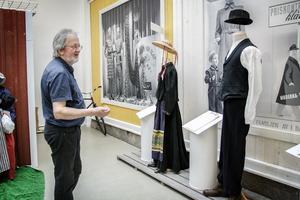 På utställningen visas fyra husspekulanter, bland annat Tekla som Olof Engberg byggde ett hus åt 1922.