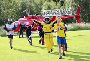 Nykomlingarna och debutanterna i lag Lövnäsvallen anlände Solberga med stil.