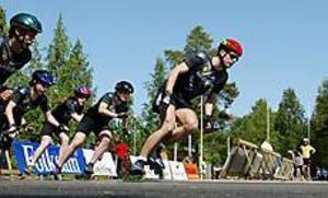 Foto: LASSE HALVARSSONInlines. Första banan finns vid Gavlestadion iGävle. 170 meter lång är den godkänt för tävlingar. I augusti körs SM på banan.