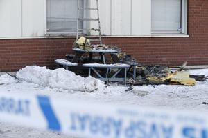 Polisen utreder händelsen som mordbrand.