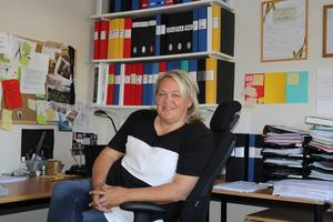 Lena Lingman, rektor på Glada Hudikgymnasiet.