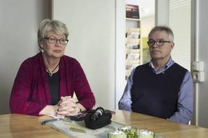 Ann-Marie Johansson (S) och Christer Siwertsson (M) är regionråd.