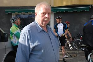 Bengt-Erik Svedman, ordförande i Ljusdals cykelklubb.