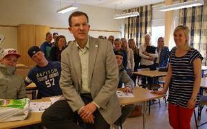 Lennart Sacrédeus var EU-parlamentariker åren 1999-2004. Han har återgått till jobbet som gymnasielärare på S:t Mikaelsskolan i Mora. Han är också aktiv inom kyrkopolitiken. Foto: Birgit Nilses Gröndahl