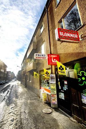 Kiosken på hörnet är ensam i sin genre i Östersund. Foto: Anders Lundin