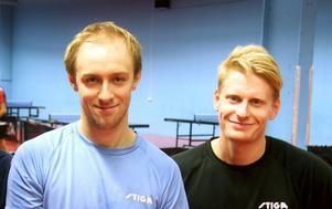 Viktor Brodd och Hampus Nordberg.