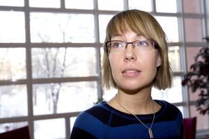Linda Fransson, livsmedelsinspektör i Härnösands kommun.