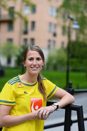 Emma Berglund, FC Rosengård, född i Umeå 1988, debuterade i landslagssammanhang mot USA i november 2011.