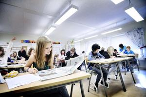 Årskurs sex på Kilbergsskolan har Tidningen i skolan på schemat denna vecka.
