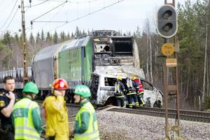 En dödsolycka skedde vid en järnvägsövergång i Ockelbo våren 2011.
