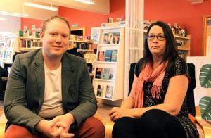 Robert Thunfors och Lotta Borg hoppas båda på minst fem mandat i kommunfullmäktige.