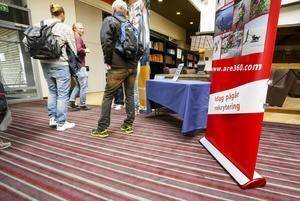 Under hela dagen strömmade arbetssökande till den årliga rekryteringsmässan i Åre.