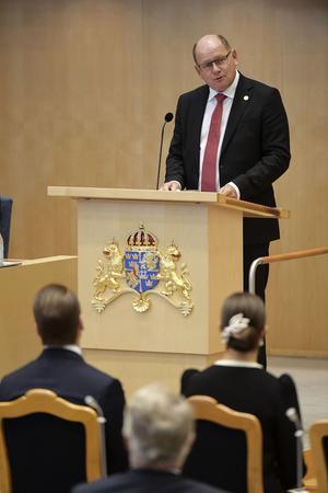 STOCKHOLM 20170912Talman Urban Ahlin under riksmötets öppnande 2017.