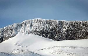 Arkivbild: Glaciären på Helags.