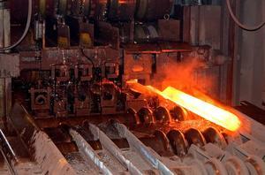 Söderfors Steel producerar valsade stänger.