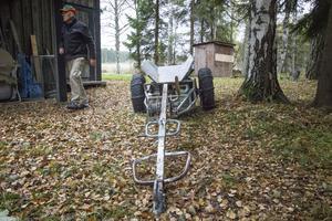Redskapen blir fort gamla och den här vagnen kommer troligen inte att användas i årets jakt.