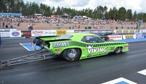 Anders Nilsson, Älvdalen, var snabbast i EM-deltävlingen på Alastaro-banan utanför Virtta i Finland.