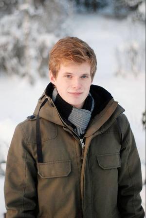 Björn Lindgren, uppväxt på Frösön, har föreslagits som nytt språkrör för Grön ungdom. Foto: Pressbild
