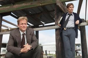 """Woody Harrelson och Matthew McConaughey i den prisbelönta HBO-serien """"True detective""""."""