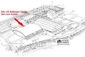 Selånger Bandy vill bygga en ny inomhushall där den nuvarande bandyplanen vid Gärdehov ligger.