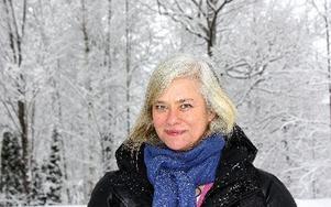 Lena Kansbod har anställts på projekt landsbygdsutveckling i Ludvika kommun, en av 13 pilotkommuner. FOTO SANNA HOLMSTRÖM