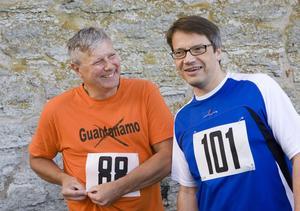 Kvarsittare. Lars Ohly (V) och Göran Hägglund (KD) vill sitta kvar som partiledare.