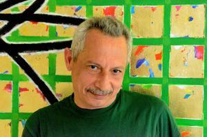 Dia Alhamwi är konstnär från Aleppo i Syrien.