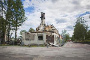 Fastigheter på Älvgatan i Sveg kommer nu att rivas.