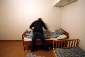 På härbärget Eken har uteliggarna kunnat få en säng för natten. Snart kan det vara slut med det. Foto: Peter Krüger.