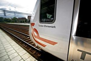 Urspårad stavning. 2001 döptes tåget efter Torsten Ehrenmark. Har namnet varit felstavat lika länge?