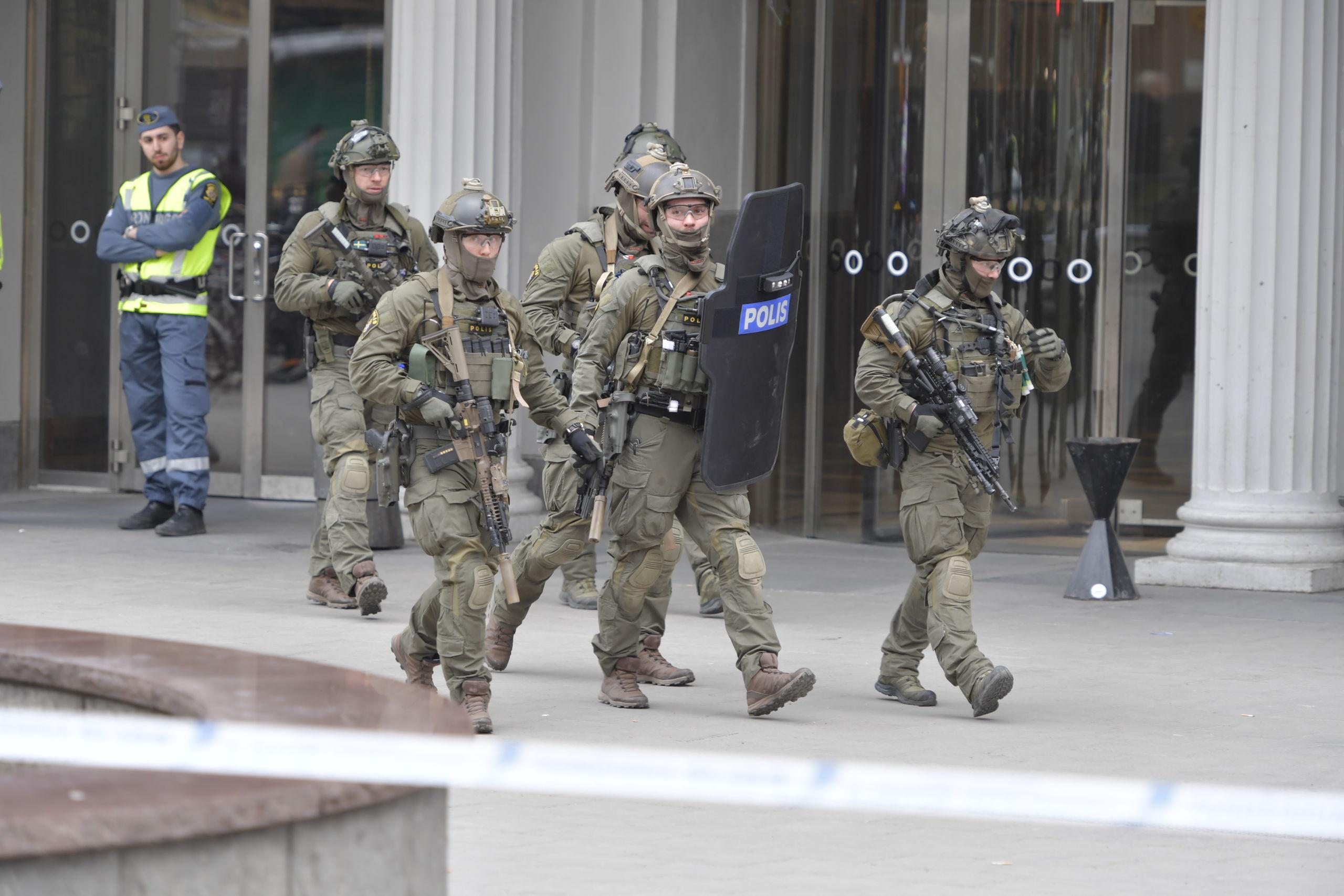 Person gripen misstankt for inblandning i attentatet