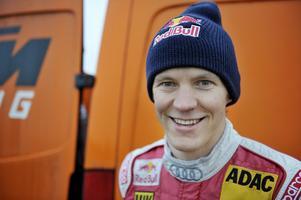 Mattias Ekström - redo för en ny banracingsäsong.